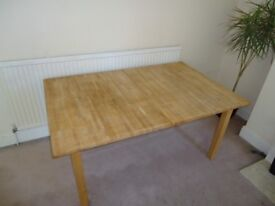 Stornas Solid Wood Extendable Table (STORNÄS)