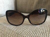 Bvlgari Womens Sunglasses 8065 Tortoiseshell/Brown Graduated lenses