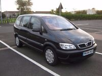 Vauxhall Zafira 1.6 LIFE 5dr, 7 Seater, Petrol, 2004/12, 82 000 miles