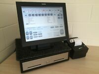 ★ Epos Pos Touchscreen Till for Pub, Bar, Restaurant, Cafe, Deli Pizzeria Fast Food, Bistro, Hotels