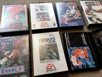Sega Megadrive Games RETRO *Great Condition*