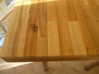 Modern Dining Table Adjustable Height
