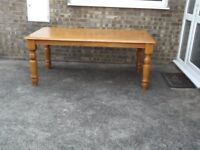 Large modern dining room table
