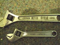 King Dick adjustable wrench