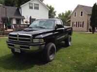 2001 lifted Dodge Ram for trade
