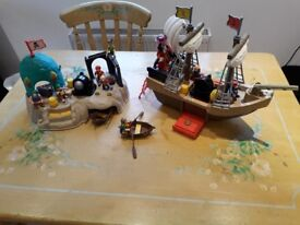 Pirate toy set aged 3-9 GREAT CHRISTMAS PRESENT