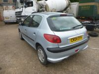 PEUGEOT 206 - CK04DYH - DIRECT FROM INS CO