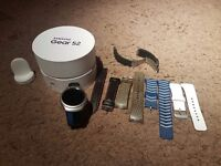 Samsung Galaxy Gear S2 smart watch in perfect condition with accessories