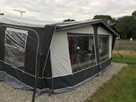 Dorema Daytona Full Size Caravan Air Awning suits A dimension 950 to 975cm