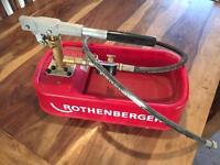 Rothenberger pressure test pump
