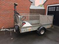 Ifor Williams 8x5 ft caged trailer