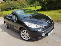 207CC GT only 27,500 miles, 12 month MOT fully serviced