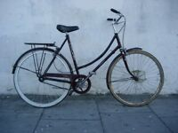 Fixie/Single Speed Town Bike by Raleigh, Burgundy, Rides Great!, JUST SERVICED/ CHEAP PRICE!