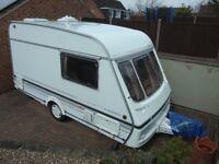 1995 2 Berth Swift Silhouette Classic Caravan