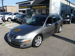 2006 Saab 9-3 AERO SPORT-COMBI! 6SPD! NO ACCIDENTS!