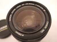 CANON 28-80MM ZOOM LENS EF MOUNT EXCELLENT QUALITY AND A1 CONDITION