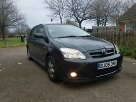 2006 Toyota Corolla 2.0 D4D D-4D Tdi turbo diesel Colour collection FULL SERVICE HISTORY