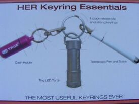 True Utility HER Keyring Essentials - Triple Tool Pack: Brand New