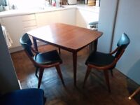 Mid century style dining table