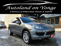 2011 Porsche Cayenne S Navigation, Backup sensors, Bluetooth, He