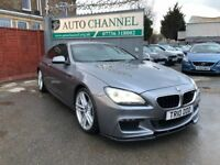 BMW 6 Series 3.0 640d M Sport Coupe Auto 2dr£16,500 p/x welcome FREE WARRANTY. NEW MOT