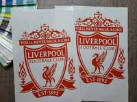 Liverpool F.C. Logo stickers