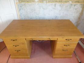 Wood effect office Desk