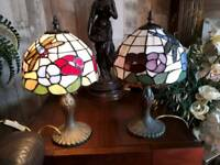 BEAUTIFUL TIFFANY STYLE DRAGONFLY LAMPS £25.00 EACH