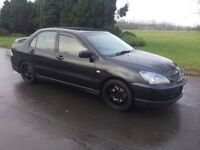 2006 MITSUBISHI LANCER 2.0 SPORT # FULL YEARS M.OT # METALLIC BLACK #