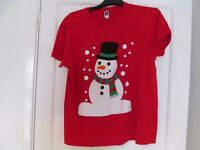 Ladies Christmas t-shirt