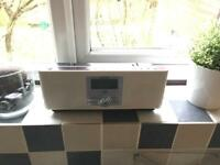 Sharp Kitchen DAB Radio White
