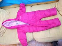 Infant cold weather clothes