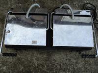 MilanToast double Pannini contact grill 240v