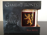 "Game of Thrones 11oz mug, ""Lannister"" and ""Hear me Roar"", white mug, gift idea."