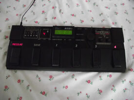 Korg AX30G Electric Guitar Effects Pedal :- Distortion Chorus Delay Pitch etc