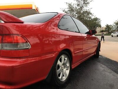 1999 Honda Civic Si 1999 Honda Civic Si MIlano Red EM1