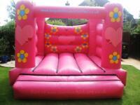 Pink 12ft x 12ft Bouncy Castles
