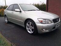 Lexus is200 Sport *one owner* MINT may PX van