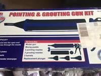 Pointing & grouting gun kit