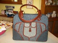 Large Harris Tweed handbag - only used once.