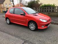 2005 Peugeot 206 1.1 L | Red | 3 Door Hatch | Pioneer | Bluetooth