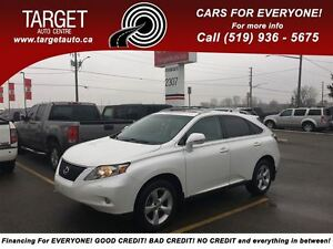 2010 Lexus RX 350 Loaded; Leather, Roof and More !!!!