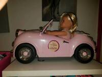 Our genaration car and doll