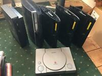 Ps3's ps2 & ps1 spares joblot