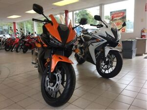 2017 Honda CBR500RA $27 WEEKLY TAX INCLUDED  SAVE $1400