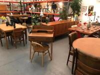 Danish Ercol Gplan Mid Century retro vintage furniture.