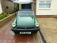 MG MIDGET 1978 Excellent Condition, Resprayed