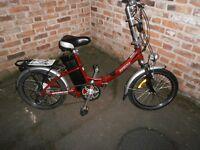 """Used++Electric Assisted Bike++Batribike Breeze E-Bike++ 20"""" wheel Folder++New Battery++BARGAIN"""