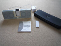 IPOD 2GB (SILVER) WITH LOGITECH DOCKING STATION - NEARLY NEW