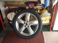 NEW WHEEL AND TYRE FOR X-TYPE JAGUAR- 2009